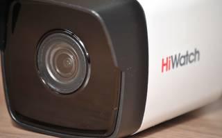 Краткий обзор HiWatch DS-I200 — Август 2019