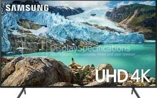 Краткий обзор Samsung UE50RU7170U — Август 2020