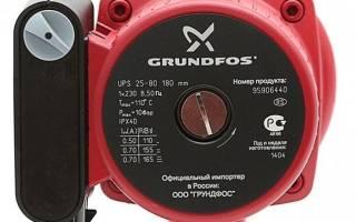 Краткий обзор Grundfos UPS 25-40 180 — Февраль 2020