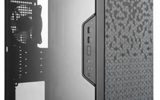 Краткий обзор Cooler Master MasterBox Q300L — Сентябрь 2019