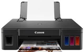 Краткий обзор Canon PIXMA G1411 — Ноябрь 2020