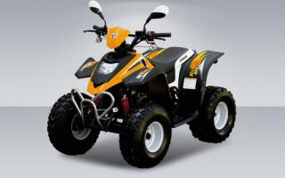 Обзор детского квадроцикла Stels ATV 50