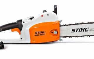 Краткий обзор Stihl MSE 250 C-Q-16 — Апрель 2017