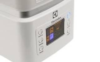 Краткий обзор Electrolux EHU-4015 — Ноябрь 2020