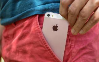 Краткий обзор Apple iPhone SE — Декабрь 2017