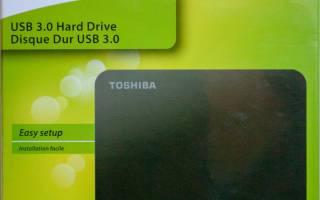 Краткий обзор Toshiba Canvio Basics (new) 1 Тб — Сентябрь 2020