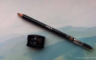 Краткий обзор Dior Powder Eyebrow Pencil — Декабрь 2016