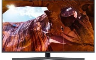 Краткий обзор Samsung UE50RU7400U — Июль 2020