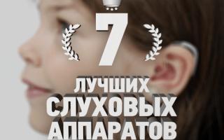 Рейтинг 7 лучших слуховых аппаратов — ТОП 7
