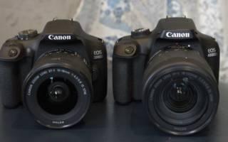 Краткий обзор Canon EOS 2000D — Апрель 2020