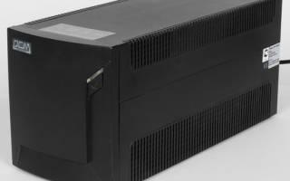 Краткий обзор Powercom RAPTOR RPT-2000AP — Июнь 2017