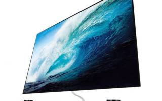 Краткий обзор LG OLED65W7V — Сентябрь 2017