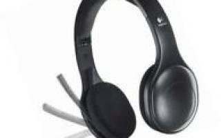 Краткий обзор Logitech Wireless Headset H800 — Январь 2019