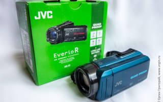 Краткий обзор JVC Everio GZ-R435 — Июнь 2019