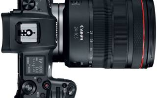 Краткий обзор Canon EOS R Body — Декабрь 2020