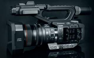 Краткий обзор Panasonic AG-UX180 — Июнь 2019