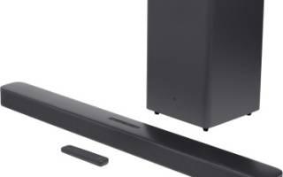 Краткий обзор JBL Bar 2.1 Deep Bass — Декабрь 2020
