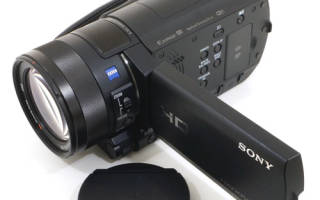 Краткий обзор Sony HDR-CX900E — Июнь 2019