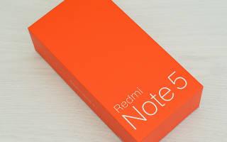 Краткий обзор Xiaomi Redmi Note 5 64GB — Октябрь 2020