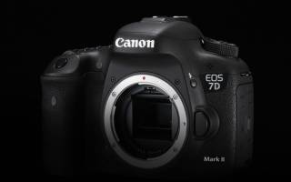 Краткий обзор Canon EOS 7D Mark II Kit — Декабрь 2020