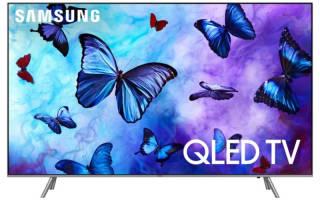 Краткий обзор Samsung QE55Q6FNA — Декабрь 2019