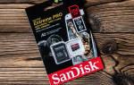 Краткий обзор SanDisk Extreme Pro microSDXC Class 10 UHS Class 3 V30 A2 170MB/s 64GB + SD adapter — Сентябрь 2020