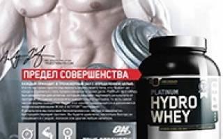 Краткий обзор Optimum Nutrition Platinum Hydro Whey — Июнь 2019