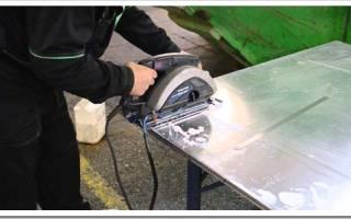 Чем можно резать алюминий?
