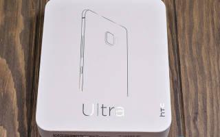 Краткий обзор HTC U Ultra 64GB — Ноябрь 2017