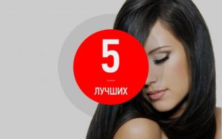 Рейтинг лучших черных красок для волос — ТОП 5