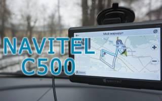 Краткий обзор NAVITEL C500 — Август 2019