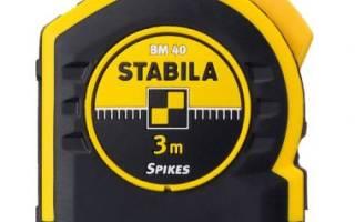 Краткий обзор STABILA BM40 3м x 16мм — Ноябрь 2015