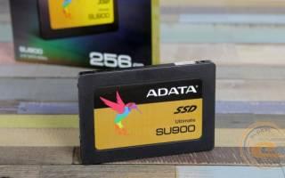 Краткий обзор ADATA Ultimate SU900 256GB — Июнь 2017