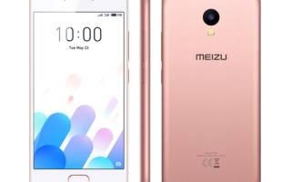 Краткий обзор Meizu M5c — Ноябрь 2017
