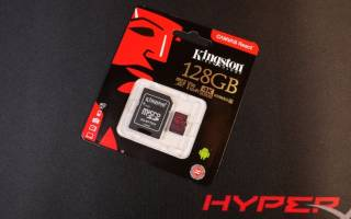 Краткий обзор Kingston SDCR/128GB — Январь 2020