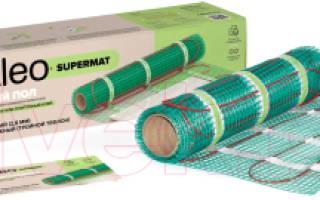 Краткий обзор Электрический теплый пол Caleo SUPERMAT 200-0,5 2000Вт — Февраль 2020