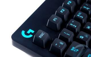 Краткий обзор Logitech G213 Prodigy RGB Gaming Keyboard Black USB — Июль 2017