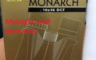 Краткий обзор Nikon Monarch 5 20×56 — Июнь 2015