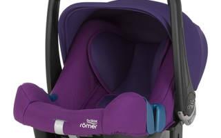Краткий обзор BRITAX RÖMER Baby-Safe Plus II SHR — Март 2017