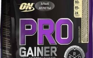 Краткий обзор Optimum Nutrition Pro Gainer (4.54 кг) — Январь 2020