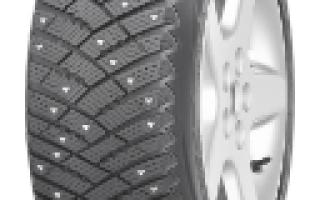 Описание автомобильных шин Goodyear Ultra Grip Ice Arctic
