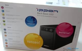 Краткий обзор Ippon Back Basic 650 — Июнь 2017