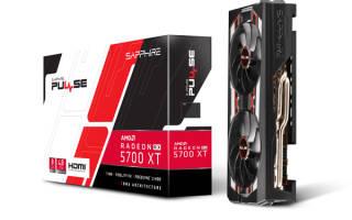 Краткий обзор Sapphire Pulse RX 5700 XT 8G — Декабрь 2020