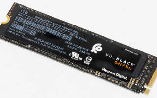 Краткий обзор Western Digital WD Black NVMe SSD 250 GB (WDS250G2X0C) — Сентябрь 2020