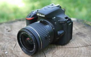 Краткий обзор Nikon D5600 Kit — Апрель 2020