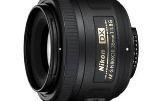 Краткий обзор Nikon 35mm f/1.8G AF-S DX Nikkor — Апрель 2015