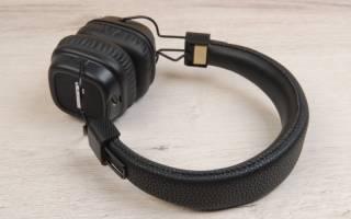 Краткий обзор Marshall Major II Bluetooth — Июль 2019
