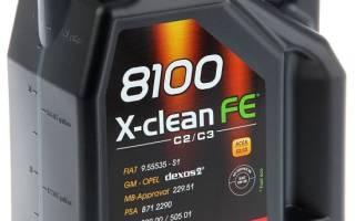 Краткий обзор Motul 8100 X-clean FE 5W30 — Январь 2019