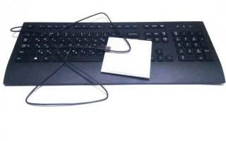 Краткий обзор Logitech Corded Keyboard K280e Black USB — Июль 2017