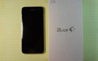 Краткий обзор ZTE Blade S7 — Июнь 2016